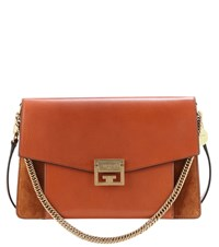 Givenchy Medium Gv3 Leather Shoulder Bag Brown