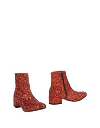 Luca Valentini Ankle Boots Bronze