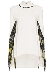 Kitx Connection Collar Top White