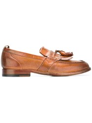 Sartori Gold Tassel Loafers Brown