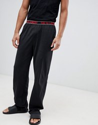 Tokyo Laundry Jersey Lounge Pants With Waistband Black