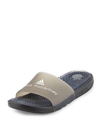 Adidas By Stella Mccartney Recovery Molded Slide Sandal Black