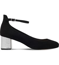 Carvela Greg Suedette Heeled Sandals Black