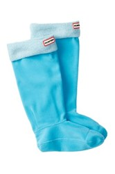 Hunter Mohair Boot Socks Blue