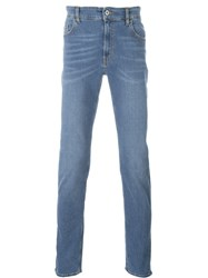 Love Moschino Slim Fit Jeans Blue