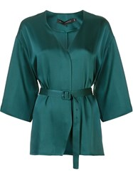 Sally Lapointe Belted Blouse 60