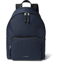 Burberry London Canvas Backpack Blue