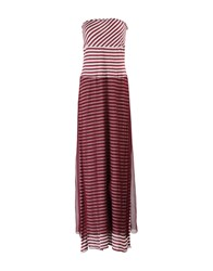 Pianurastudio Dresses Long Dresses Women Maroon