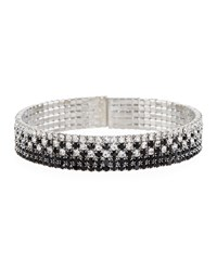 Fragments For Neiman Marcus Black Crystal Pave Bracelet