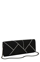 Whiting And Davis 'Crystal Segments' Flap Clutch