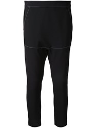 Manning Cartell Directors Cut Slouch Trousers Black