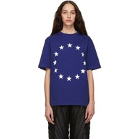 Etudes Studio Blue Europa Wonder T Shirt