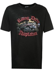 Adaptation Riding Dirty T Shirt Black