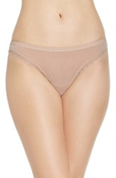 Ongossamer Women's On Gossamer Hip G Thong Champagne