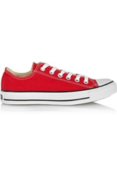 Converse Chuck Taylor All Star Canvas Sneakers Red