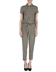 Stefanel Dungarees Trouser Dungarees Women Salmon Pink
