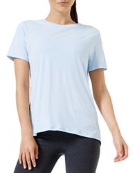 Mpg Eden Relaxed Fit Short Sleeve Tee Chambray