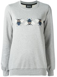 Markus Lupfer Bumble Bee Sweatshirt Grey