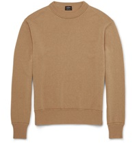 Jil Sander Knitted Cashmere Sweater Brown