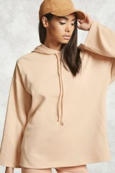 Forever 21 Boxy Sleeve French Terry Hoodie