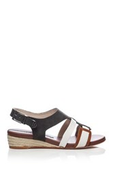 Matt Bernson Antibes Wedge Sandal Black