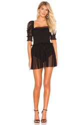 Amanda Uprichard Hurrah Dress Black
