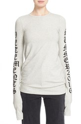 Women's Vetements Graphic Print Long Sleeve Tee