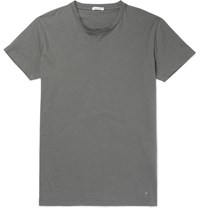 Tomas Maier Slim Fit Cotton Jersey T Shirt Unknown