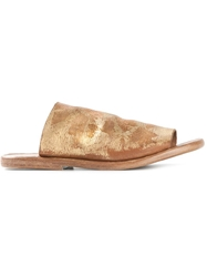 Dimissianos And Miller Wooden Sole Mules
