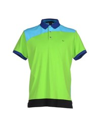 Marc By Marc Jacobs Topwear Polo Shirts Men Acid Green