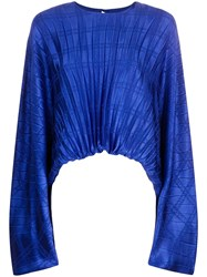 Federica Tosi Pleated Asymmetric Blouse 60