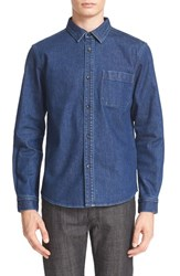 A.P.C. Men's Trevor Denim Shirt Jacket