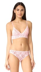 Hanky Panky Signature Lace Padded Bralette Bliss Pink