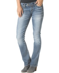 Silver Jeans Tuesday Low Rise Bootcut Jeans Indigo