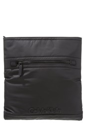 Calvin Klein Jeans Flat Crossover Across Body Bag Black