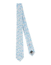 Jil Sander Accessories Ties Men Sky Blue