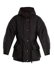 Etoile Isabel Marant Bulle Quilted Cotton Jacket Black
