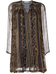 Mes Demoiselles Printed Tunic Nude Neutrals