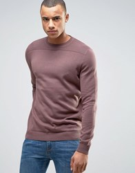 New Look Jumper In Light Purple With Textured Yoke Light Purple