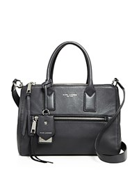 Marc Jacobs Recruit East West Leather Tote Shadow Silver