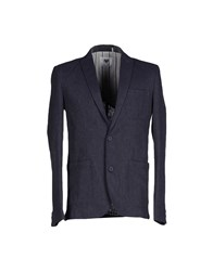 Minimum Suits And Jackets Blazers Men Slate Blue