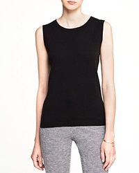 C By Bloomingdale's Sleeveless Cashmere Sweater Black