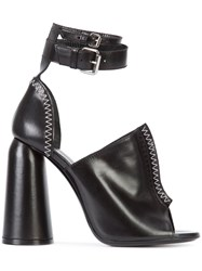 Ellery Chunky Heel Sandals Black