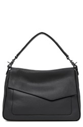 Botkier Cobble Hill Slouch Calfskin Leather Hobo Black