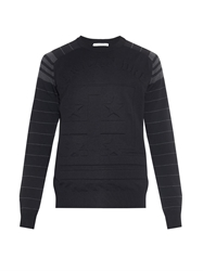 Givenchy American Dream Embossed Sweater