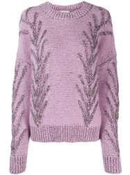 Marco De Vincenzo Knitted Jumper Pink
