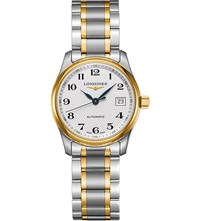 Longines L2.257.5.78.7 Master Collection Yellow Gold Plated And Stainless Steel Watch