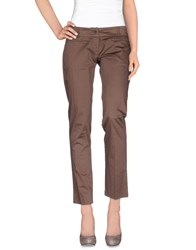 Divina Casual Pants Light Brown