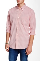 Relwen Summer Dobby Shirt Red