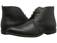 Frye Phillip Chukka Black Distressed Suede Men's Lace Up Boots